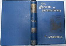 ARTHUR CONAN DOYLE The Memoirs of Sherlock Holmes FIRST PRINTING