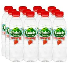 VOLVIC TOUCH OF FRUIT 6 x 1.5LTR STRAWBERRY FLAVOURED WATER
