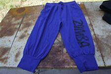 Authentic Zumba Z Jersey Capri Pants ~ Purple Moon ~ S ~Spicy Workout Gym Lounge
