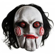Saw Billy the Puppet Mask Adult Creepy Halloween Fancy Dress