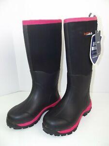 HISEA Waterproof Neoprene Rubber Muck Mud Hunting Rain Gardening Women Boot 8.5