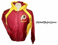 Washington Redskins Men's L, XL Full-Zip Hooded Winter Jacket NFL Red A14