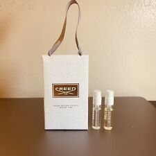 Creed Sample SET: Aventus For Her EDP and Love In White EDP Spray in Gift Bag