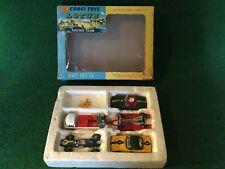 Corgi Toys Gift Set 37 Lotus Racing Team Boxed !!!