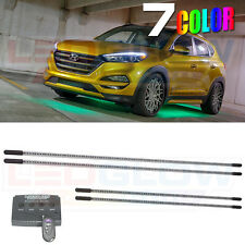 NEW! Wireless 7 Color Underglow Underbody Car LED Neon Lights Kit w. 270 LEDs