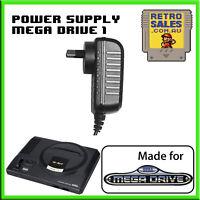Sega MegaDrive 1 Power Supply Adapter Pack New Aus MK1602 PSU Mega Drive Genesis
