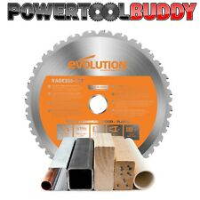 Evolution Rage Orange 255mm x 28TCT Multipurpose Circular Saw Blade