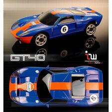 Iwaver FireLap Kyosho Mini Z Blue Ford GT Body Set