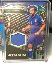 2019-20 PANINI OBSIDIAN ANDREA PIRLO ATOMIC JERSEY PATCH /149 MATCH WORN ITALY