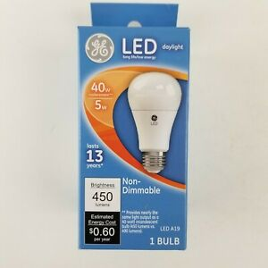 GE 40w 5w Non Dimmable Daylight Bulb 61961