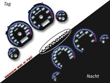 LETRONIX Plasma Tacho Tachoscheiben EL-Dash VW Golf 3 0-220km/h 7000 #