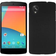 Coque Rigide Google Nexus 5 - gommée noir Case