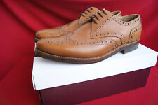 Heinrich Dinkelacker UK Gr. 9,5 (EU 43,5) Antikcalf Brogue OVP NEU! NP: 599,-