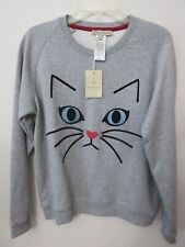 PAUL & JOE SISTER EMBROIDERED POPULAR CAT SWEATSHIRT,NWT,MSRP $260,SZ M,L (3)