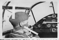 FOTO ME BF 108  PILOTEN COCKPIT FLUGZEUG LUFTWAFFE  ORIGINAL !