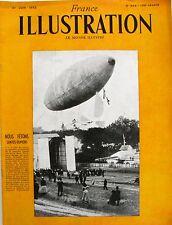 France Illustration n°349 - 1952 - Santos Dumont - Révolte à Koje 39 morts