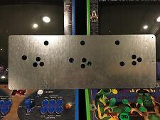 Rampage World Tour Arcade Metal Control Panel RWT Midway Overlay CPO NOS