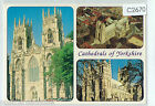 C2670pac UK Cathedrals of Yorkshire Multiview postcard