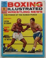 Boxing Wrestling Illustrated News Dec.1963-Marciano-Walcott Cover