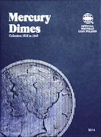Whitman Mercury Dime Coin Folder 1916-1945 #9014
