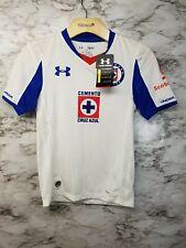 90764df79 Under Armour Cruz Azul Liga MX Soccer Jersey Boys S New with tags 69  White