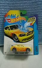 Hotwheels Colour Shifters Dodge Charger SRT 08 (Yellow) *muscle not skyline