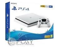 PS4 Slim Blanca Playstation 4 Consola 500Gb