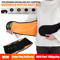 Adjustable Far Infrared Waist Lumbar Support Belt Back Pain Relief Therapy Strap