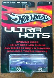 Ultra Hots 1969 DODGE CHARGER Real Riders Hot Wheels HW Redline
