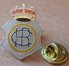 Pin/ele #40 + Real Club Recreativo de Huelva + Verein emblema + sólo 1x +