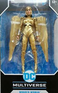 DC Multiverse Wonder Woman Gold 1984 Golden Winged Armor 22 parts McFarlane Toys