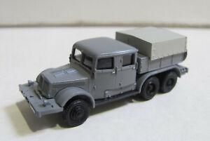 RK-Modelle Tatra 141 Schwerlastzugmaschine mit Pritsche/Plane grau für Spur TT