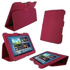 rooCASE Ultra-Slim Folio Vegan Leather for Samsung Galaxy Note 10.1 Magenta C22