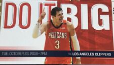 New Orleans Pelicans vs Los Angeles Clippers Ticket Stub 10/23/18
