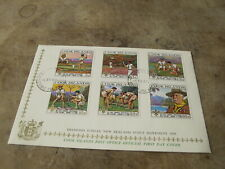 1969 First Day Cover FDC - Cook Islands - New Zealand Scout diamond jubilee