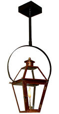 "15"" New Orleans Style Outdoor Lantern on Classic Yoke Electric, Gas, or Propane"