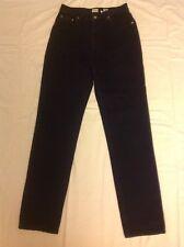 Women's Vintage Calvin KleinJeans High Rise Straight Leg Black UK Size 12