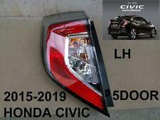 HONDA CIVIC Rear HATCHBACK 5Door Tail Light Lamp OEM Genuine Part LH 2015-2019