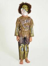 Halloween Niños Espeluznante pantano Zombie Esqueleto Disfraz Elaborado Vestido Vestirse H19