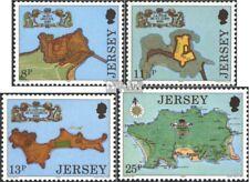 Verenigd Koninkrijk-Jersey 212-215 gestempeld 1980 Forten