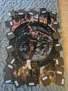 VERY RARE🔥1997 Michael Jordan Eighth 8th Wonder of the World Poster 23X35