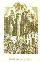 Napoleon Bonaparte Plug of the Bastille in Fire Speeches 14 Jui 1797 a Decaris