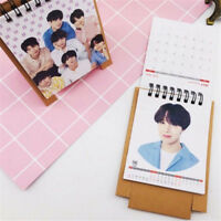 Kpop BTS 2019 Desk Calendar Bangtan Boys Photo Album Decor Calendar Gifts