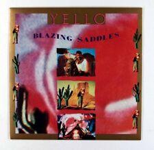 "Yello - Blazing Saddles (UK 7"" in Picture Sleeve) Excellent+ Vinyl"