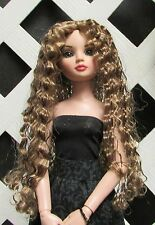 "DOLL Wig, Monique ""Christine"" Size 5/6 in Ginger Brown"