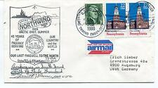 1988 USCGC Northwind WAGB-282 Last Farewell to North Polar Arctic Cover SIGNED