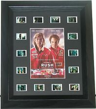 """""""RUSH""""    FILM  CELL  MOUNTED  FRAMED  type14sp  ACTION MOTOR RACING"""