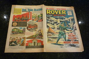 THE ROVER & WIZARD Comic - Date 19/02/1966 - UK Comic