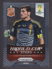 Panini Prizm World Cup 2014 - Stars # 33 Iker Casillas - Spain