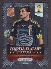 Panini Prizm Copa del Mundo 2014 estrellas Iker Casillas-ESPAÑA # 33